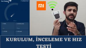 Xiaomi Mi Wifi Repeater Pro Kurulum ve İnceleme ( İnternet Hız Testi) | TeknoUpdates