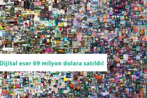 Mike Winkelmann eseri 69 milyon dolara satıldı: Kripto para, açık artırmada ilk kez kullanıldı!